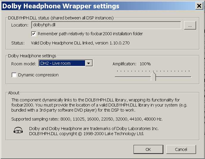 5 1 Headphone experience *Foobar configuration for all stereo music